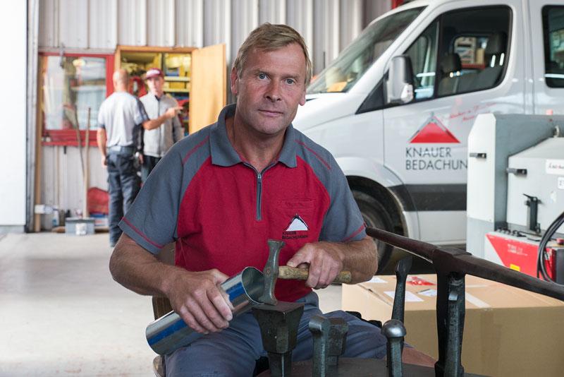 Thomas Mahl / Team-Mitglied - Knauer Bedachungen Überlingen