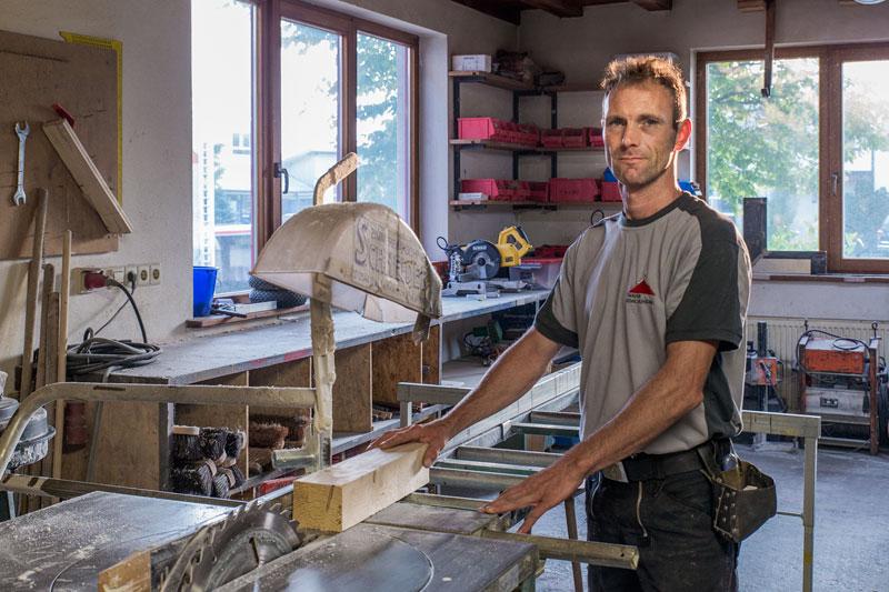 Michael Feldengut / Team-Mitglied - Knauer Bedachungen Überlingen