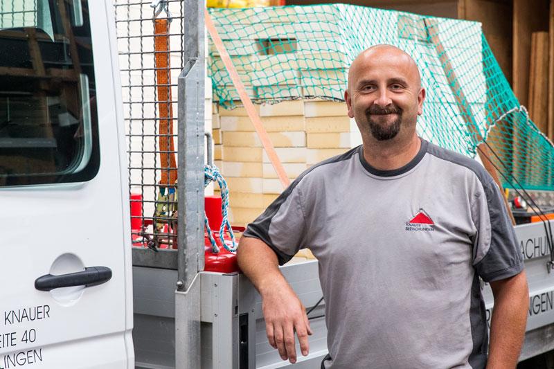 Ronny Hartmann Team-Mitglied - Knauer Bedachungen Überlingen
